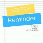Poetry: Reminder